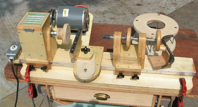 Lathe for wood homemade